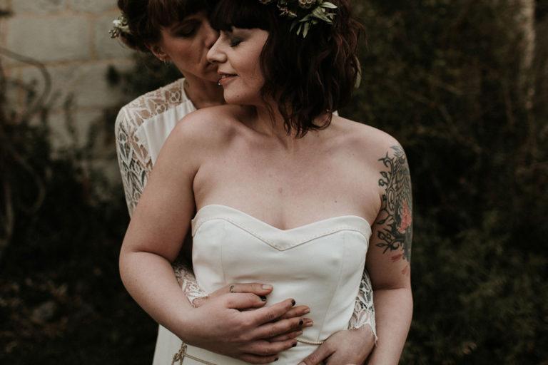Un mariage LGBT kinfolk en Normandie